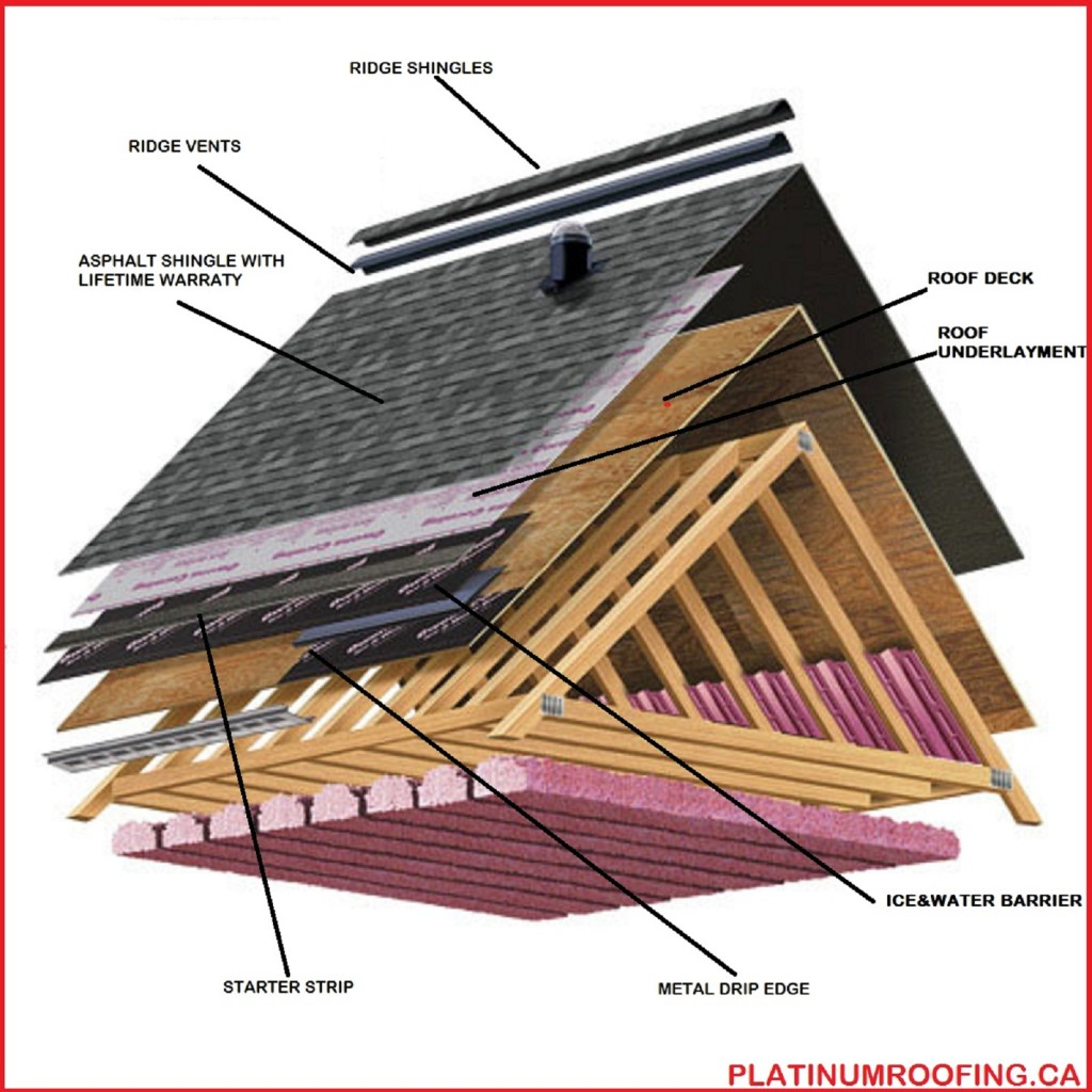 Asphalt Shingle Diagram 002